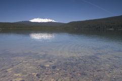 Crescent Lake Diamond Peak Oregon Outback Stock Images