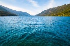 Crescent Lake, Olympic National Park Stock Photo