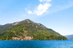 Crescent Lake, Olympic National Park Stock Photography
