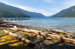 Crescent Lake, Olympic National Park Royalty Free Stock Photos