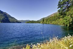 Crescent Lake Royalty Free Stock Photos