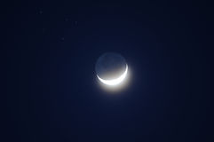 Crescent moon Stock Photos