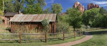 Crescent Moon Ranch State Park historique dans Sedona Arizona images stock