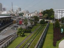 Crescent Park slinga--New Orleans Royaltyfri Foto