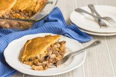 Crescent Roll Lasagna Fotografia Stock