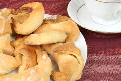 Crescent rolls Stock Photos
