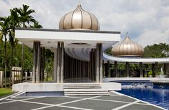 Crescent-shaped pavillion Turu Negara Stock Photography