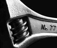 Crescent wrench Royalty Free Stock Photography