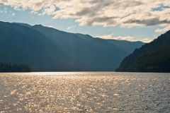 Crescente do lago Imagem de Stock