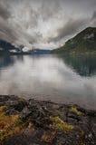 Crescente do lago Imagem de Stock Royalty Free