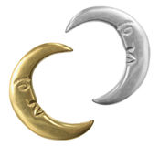 Crescents Royalty Free Stock Photo