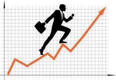 Crescimento da carreira Imagem de Stock Royalty Free