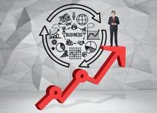Crescimento da carreira Imagem de Stock