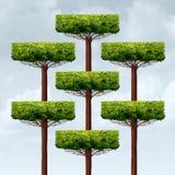 Crescimento da estrutura de organização ilustração royalty free