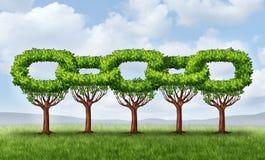 Crescimento da rede Foto de Stock Royalty Free