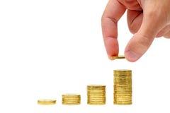 Crescimento das economias Fotografia de Stock Royalty Free