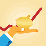 Crescimento das economias Fotos de Stock Royalty Free