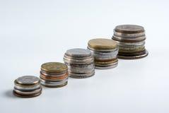 Crescimento das taxas dos por cento Fotografia de Stock Royalty Free