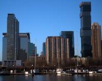 Crescimento de construção de Jersey City Imagem de Stock