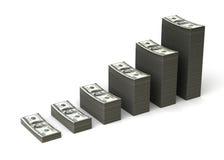 Crescimento de dinheiro Foto de Stock