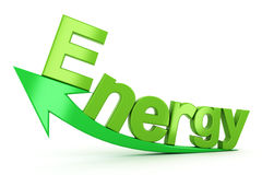 Crescimento de energia Foto de Stock