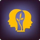 Crescimento do cérebro ilustração royalty free