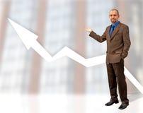 Crescimento do negócio imagens de stock