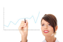 Crescimento do negócio. Imagem de Stock Royalty Free