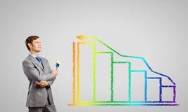 Crescimento do negócio Foto de Stock
