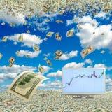 Crescimento do salário Fotos de Stock