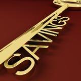 Crescimento e investimento de representação chaves das economias Imagem de Stock Royalty Free