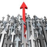 Crescimento e sucesso Imagem de Stock Royalty Free