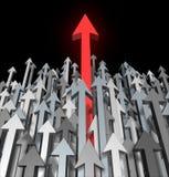 Crescimento e sucesso no negócio Imagem de Stock