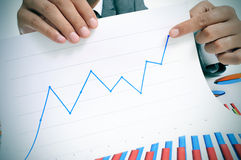Crescimento econômico Imagem de Stock Royalty Free