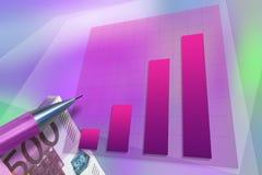 Crescimento financeiro Imagens de Stock