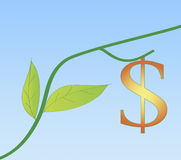 Crescimento novo na economia dos EUA Fotografia de Stock Royalty Free