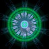Crescimento simétrico das bactérias Imagens de Stock Royalty Free