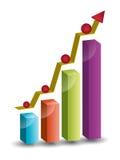 Crescimento sistemático Fotografia de Stock Royalty Free