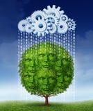 Crescimento social dos meios ilustração stock