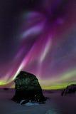 Crescimento vermelho da Aurora Imagens de Stock Royalty Free