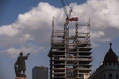 Crescita di Città del Messico Immagini Stock