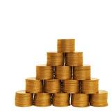 Crescita di soldi Fotografia Stock