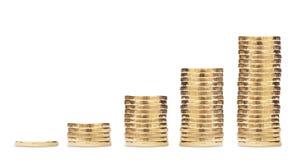 Crescita di soldi Fotografia Stock Libera da Diritti