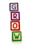 Crescita in su Immagini Stock