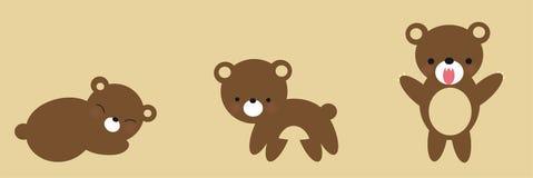 Crescita sveglia dell'orso Fotografia Stock