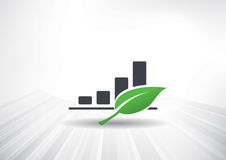 Crescita verde Fotografia Stock