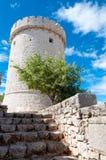Creska Kula Tower In Cres - Croatia Royalty Free Stock Image