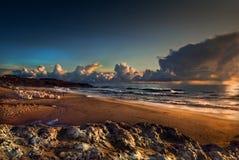 cresmina пляжа Стоковые Изображения