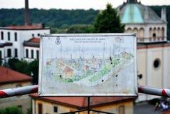 Crespi d'Adda, Italien Lizenzfreie Stockbilder