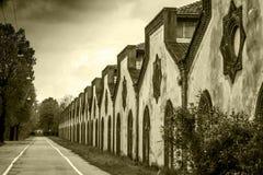 Crespi D'Adda - Village (Unesco) Stock Photos